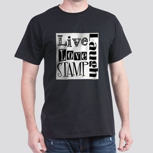 Live Love STAMP Dark T-Shirt
